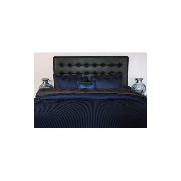 Saténové povlečení 155x200 cm, modré