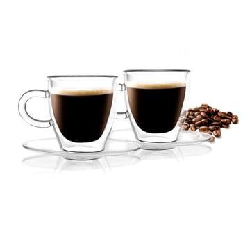 Set 2 cești cu perete dublu Vialli Design Amo Espresso, 50 ml de la Vialli Design