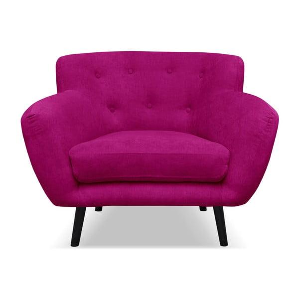 Fuksjowy fotel Cosmopolitan design Hampstead