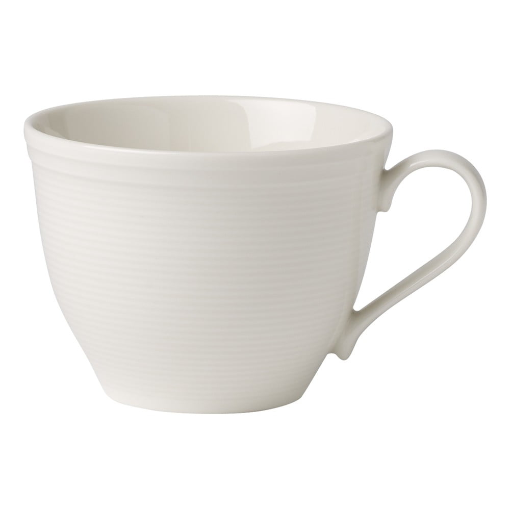 Bílý porcelánový šálek na kávu Like by Villeroy & Boch Group, 0,25 l