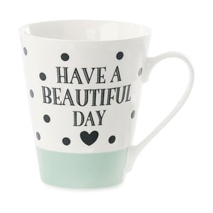 Porcelánový hrnek Miss Étoile Coffee Have A Beautiful Day