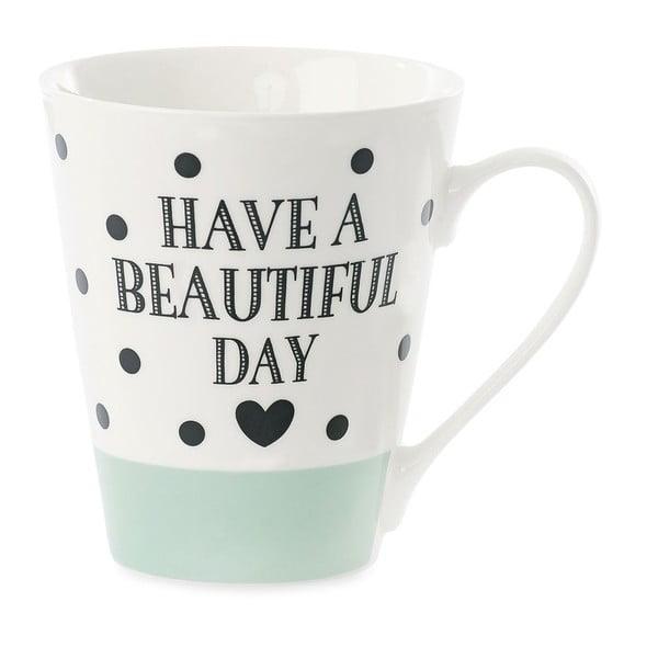 Porcelánový hrnek Miss Étoile Coffee Have A Beautiful Day