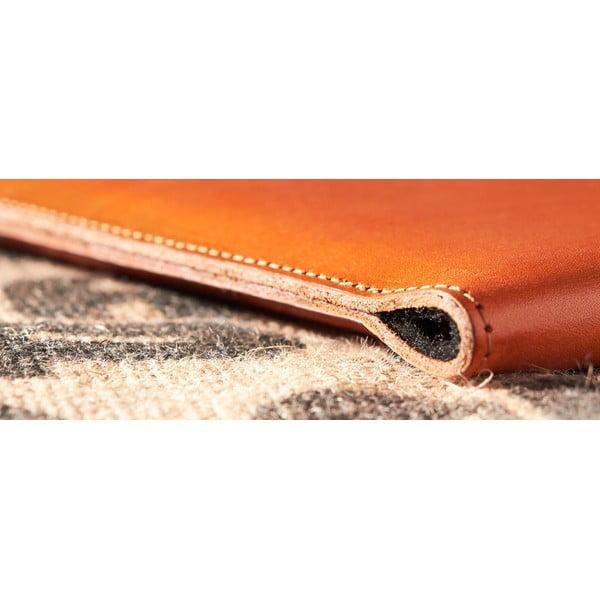 Kožený obal na iPad Air Cognac