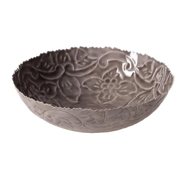 Kovová miska Filipino, 7 cm, šedá