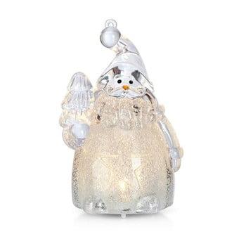 Decorațiune luminoasă cu LED în formă de Moș Crăciun Markslöjd Robban Small, înălțime 10 cm de la Markslöjd