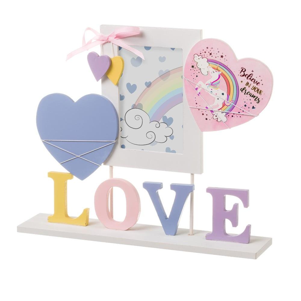 Rámeček na fotku Unimasa Love, 10 x 15 cm