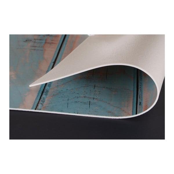 Koberec z vinylu Cocina Rombos Turquesa, 50x140 cm