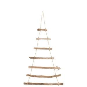 Závěsná dřevěná dekorace J-Line Hang, šířka57cm