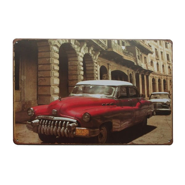 Cedule Cuban Car, 20x30 cm