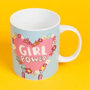 Keramický hrnek Happy News Girl Power, 400 ml