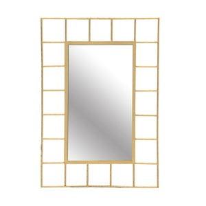 Nástěnné zrcadlo s detaily ve zlaté barvě InArt Goncalo