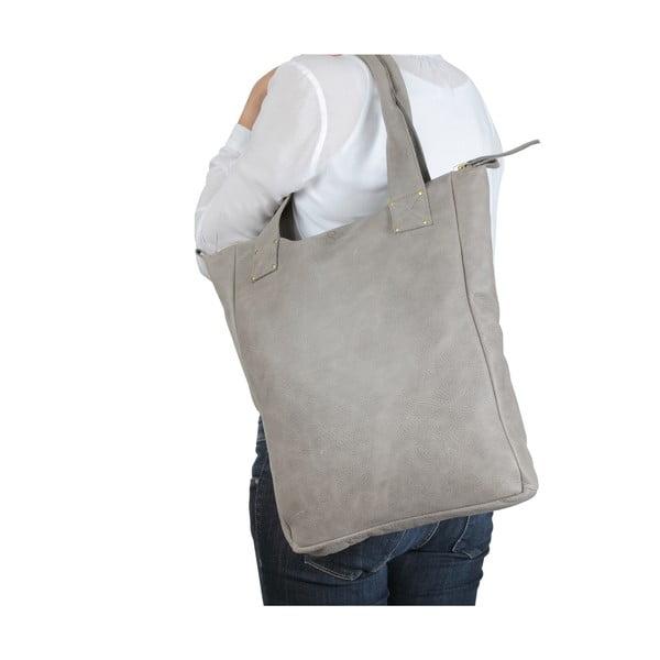 Kožená taška Lynn Grey