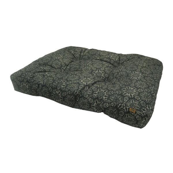 Černý pelíšek pro psa OVERSEAS Porto,55x75cm