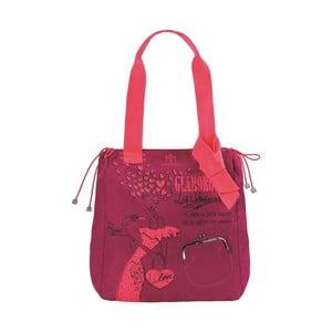 Červená kabelka Sophia Glamorous
