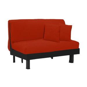 Canapea extensibilă cu 2 locuri 13Casa Lillo, roșu