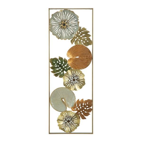 Decorațiune din fier de perete Mauro Ferretti Leaf, lungime 90 cm