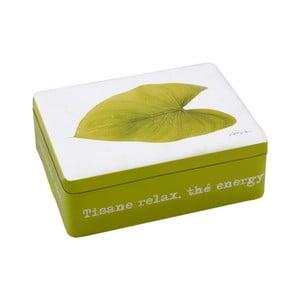 Plechová krabička Green