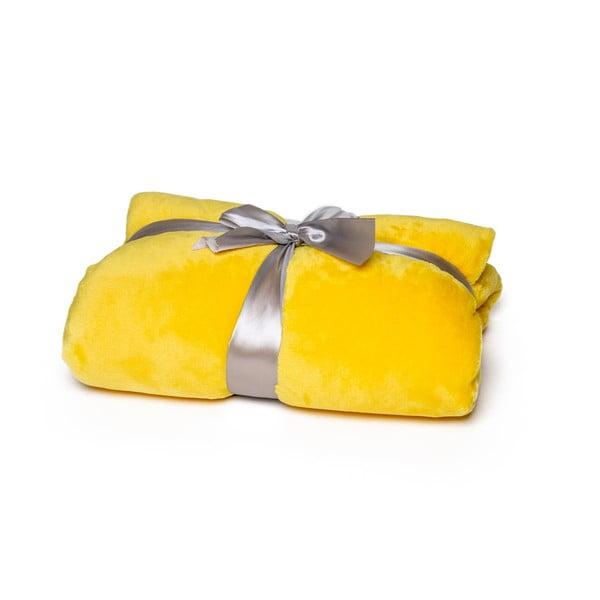 Pătură Tarami, 200 x 150 cm, galben