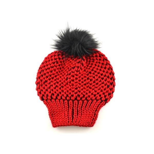 Dámská čepice Beret Red