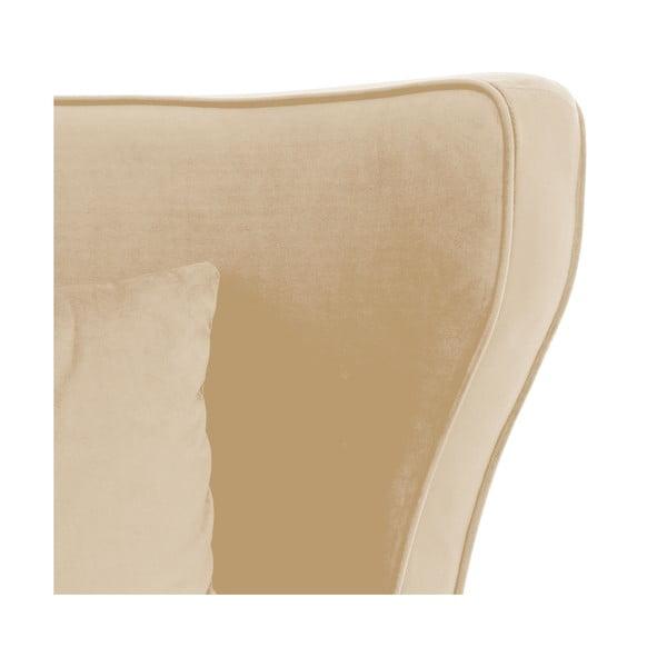 Světle béžové křeslo Vivonita Douglas Love Seat
