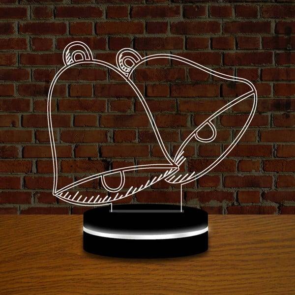 Lampa s 3D efektem Christmas no. 1