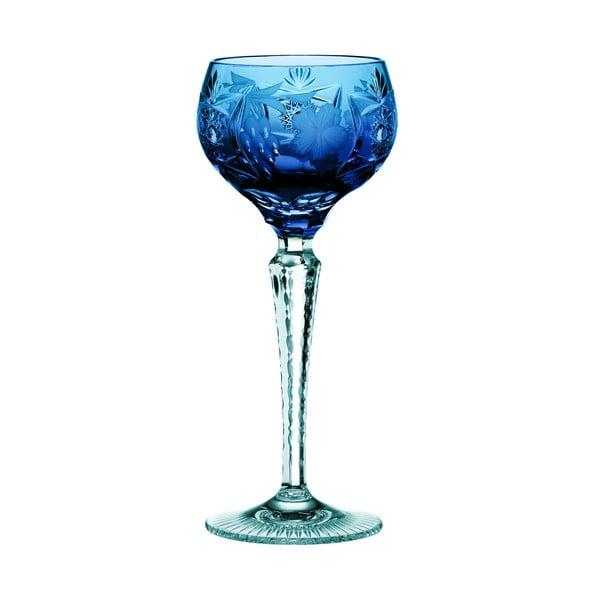 Modrá sklenice na víno z křišťálového skla Nachtmann Traube Wine Hock Cobalt Blue, 230 ml