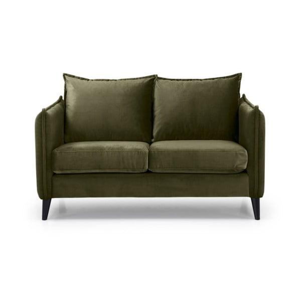 Zielona sofa 2-osobowa Softnord Leo