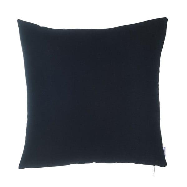Černý povlak na polštář Apolena Simple, 43 x 43 cm