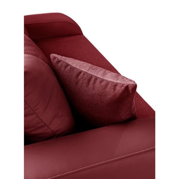 Canapea cu 2 locuri INTERIEUR DE FAMILLE PARIS Destin, roșu