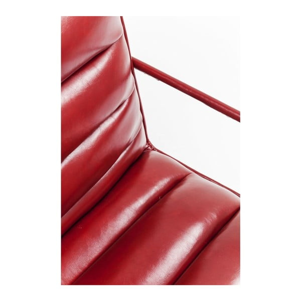 Červené křeslo Kare Design Study