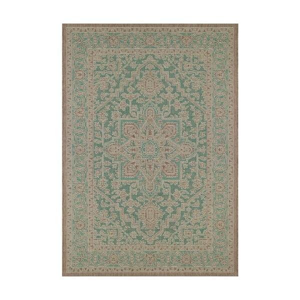 Anjara zöld-bézs kültéri szőnyeg, 200 x 290 cm - Bougari