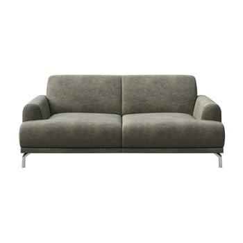 Canapea cu 2 locuri MESONICA Puzo gri