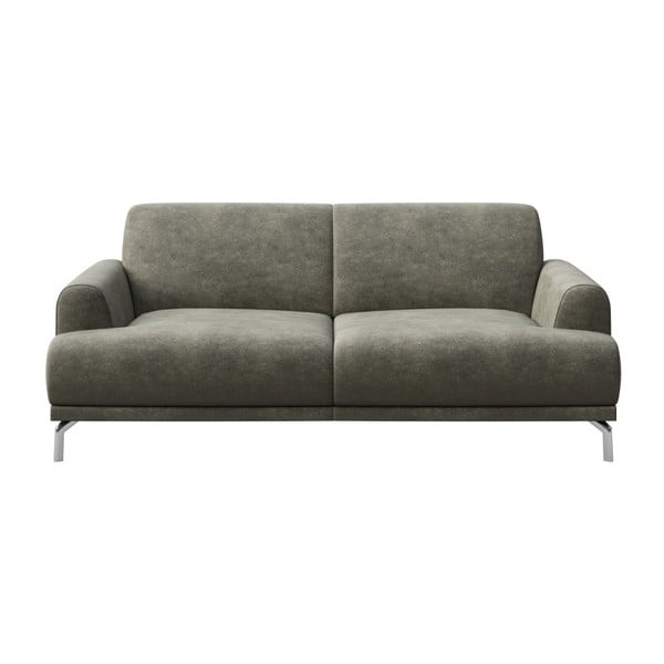 Canapea cu 2 locuri MESONICA Puzo, gri