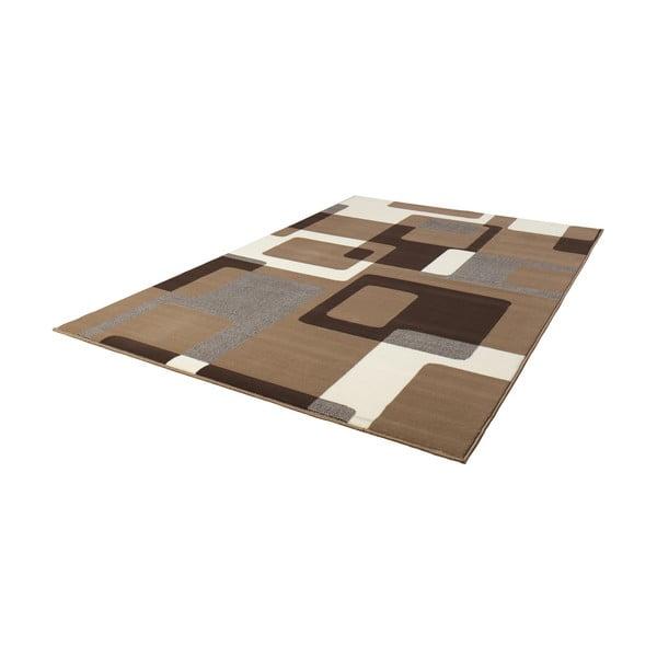 Hnědý koberec Hanse Home Hamla Retro, 120x170 cm