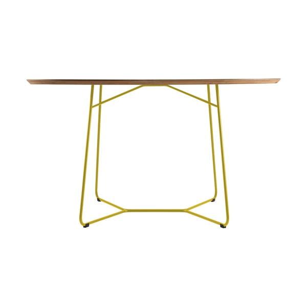 Stůl Maple, velký, žlutý