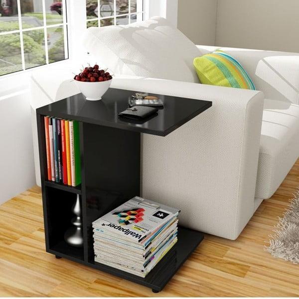 Multifunkční konferenční stolek Papatya Black