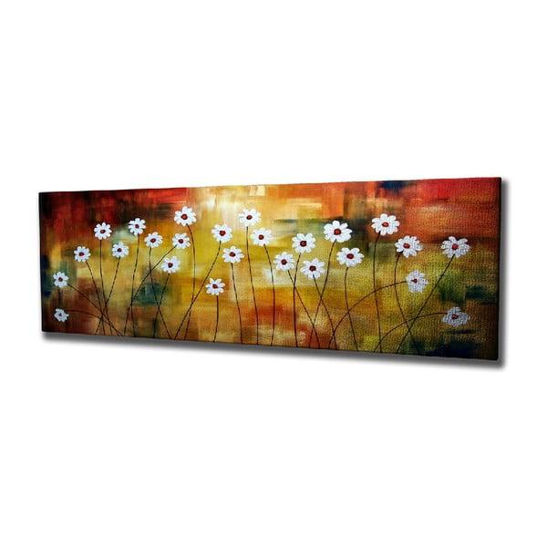 Tablou pe pânză Daisy, 80 x 30 cm