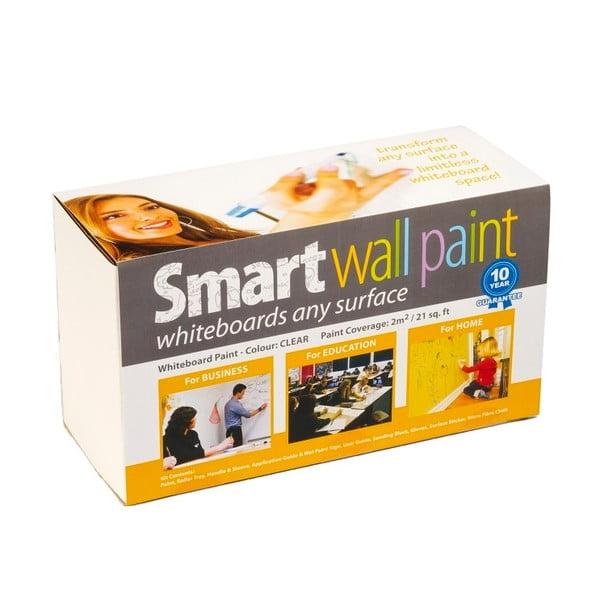 Chytrý nátěr pro psaní na stěnu Smart Wall Paint do 2 m2, průhledná barva