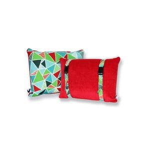 Voděodolný a oboustranný polštářek Dream Pillow Tomato Geo