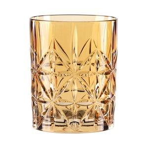 Oranžová sklenice na whisky z křišťálového skla Nachtmann Highland Amber, 345ml