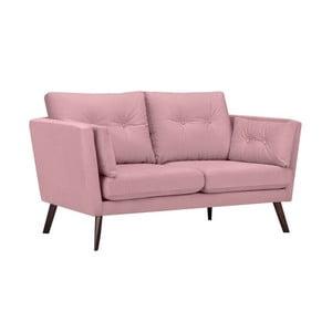 Růžová 2místná pohovka Mazzini Sofas Elena