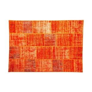 Vlněný koberec Allmode Orange, 150x80 cm