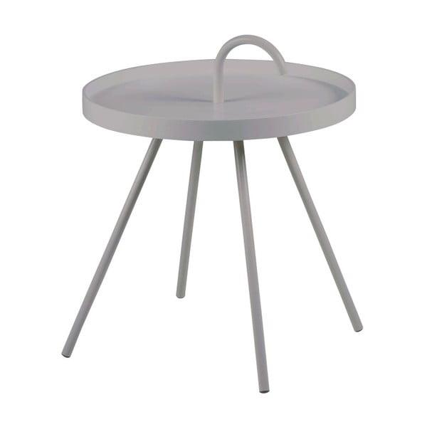 Šedý příruční stolek Actona Mico