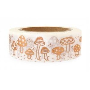 Washi páska Ohh Deer Mushrooms