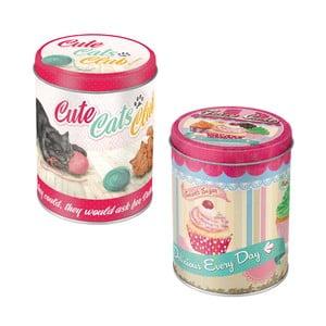 Sada dóz Cute Cats a Fairy Cakes
