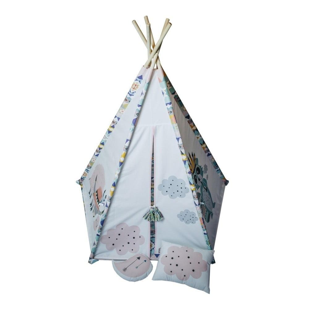 Dívčí pětiúhelníkové teepee VIGVAM Design Cute Tribe