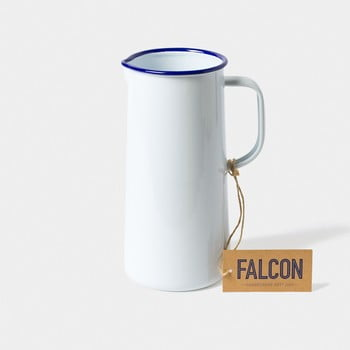 Ulcior smălțuit Falcon Enamelware TriplePint, 1,704 l, alb