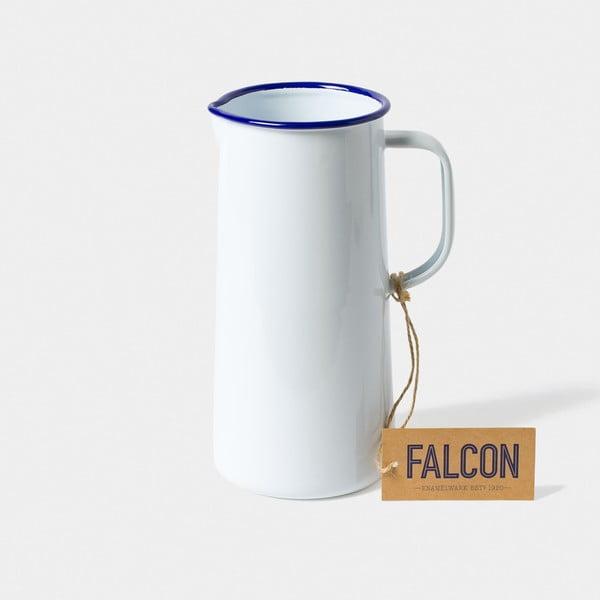 Bílý smaltovaný džbán Falcon Enamelware TriplePint, 1,704 l