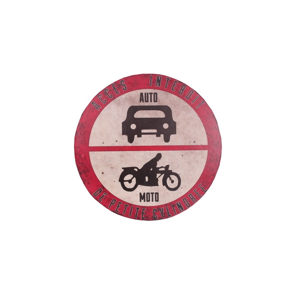 Cedule Antic Line Industrial Auto-Moto Plaque