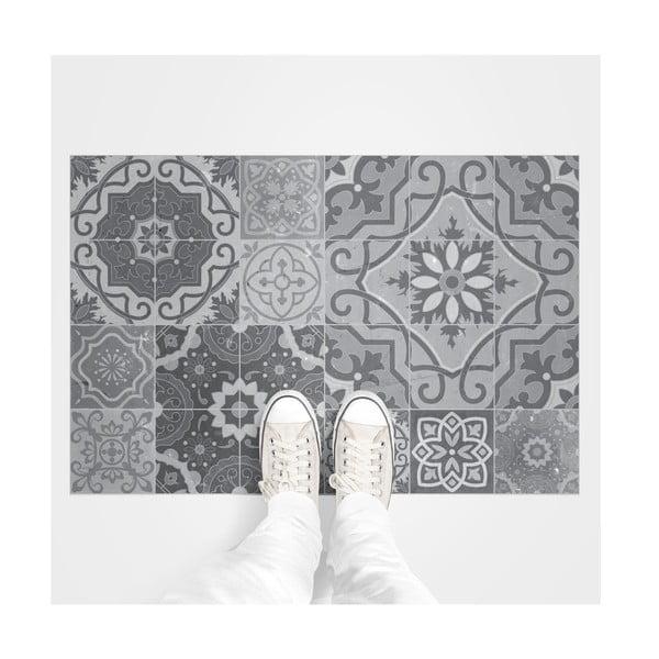 Voděodolná samolepka na podlahu Ambiance Grey Stones, 90 x 60 cm